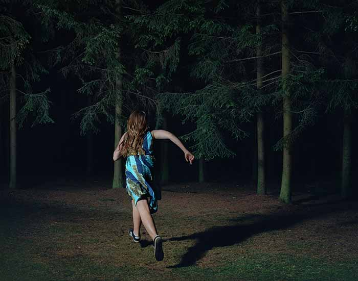 © Sharon Lockhart. When You're Free, You Run in the Dark, Buła 2016. Chromogenic print. Courtesy the artist, neugerriemschneider, Berlin and Gladstone Gallery, New York and Brussels