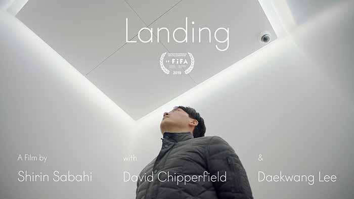 """"""" Landing,"""". Cortomettraggio di Shirin Sabahi , vincitrice nella catograria """"Films on Art"""""""
