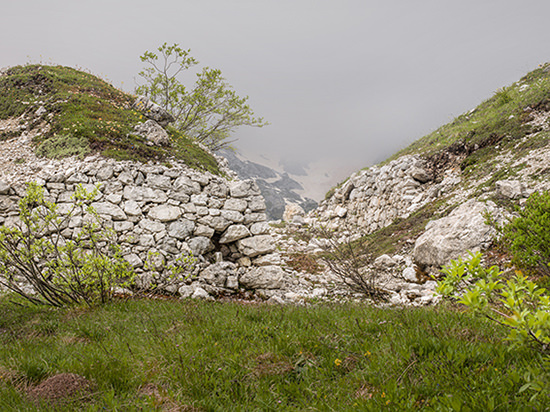 © Stefano Cioffi. Forcella Popera, Padola, Luglio 2014 (Da L'urlo indifferente)