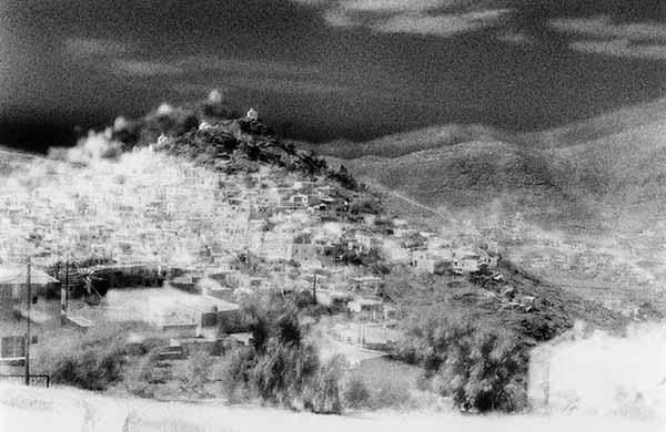 © Stefano David. Atomi. Multiesposizione in ripresa su pellicola b/w, stampa ai sali d'argento cm 50×60