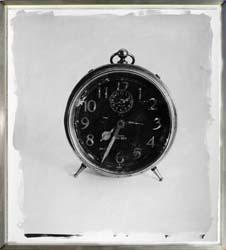 clock framed