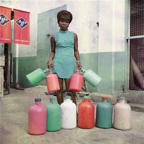 © James Barnor. Untitled (an assistant of the Sick Hagemeyer Store), Accra, 1971