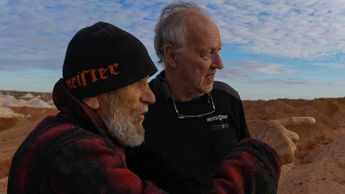 Bruce Chatwin e Werner Herzog