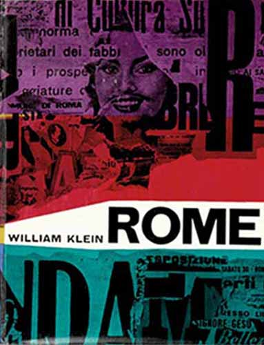 """Rome"" di William Klein. Copertina originale (Vista Books e Giangiacomo Feltrinelli Editore – 1959)"