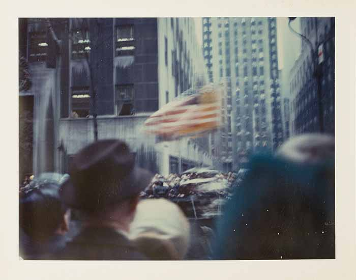 New York Parade, 1972 © Wim Wenders Courtesy Wim Wenders Foundation