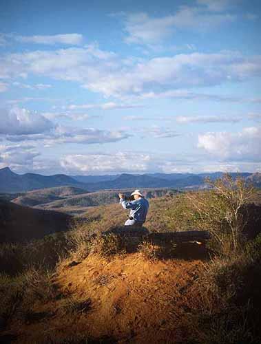 Sebastiao Salgado nel film Il sale della terra diretto da Wim Wenders