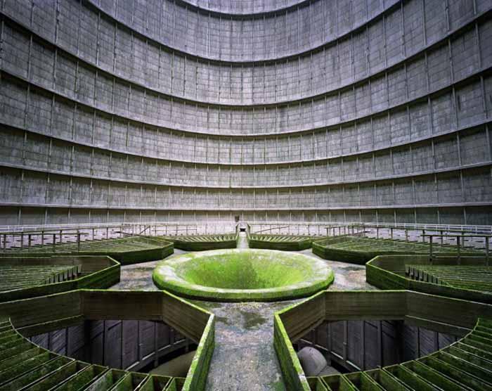 © Yves Marchand e Romain Meffre. Cooling Tower, Power Station, Monceau-sur-Sambre, Belgium, 2011
